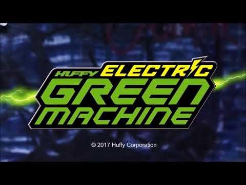 Huffy Electric Green Machine Drift Trike