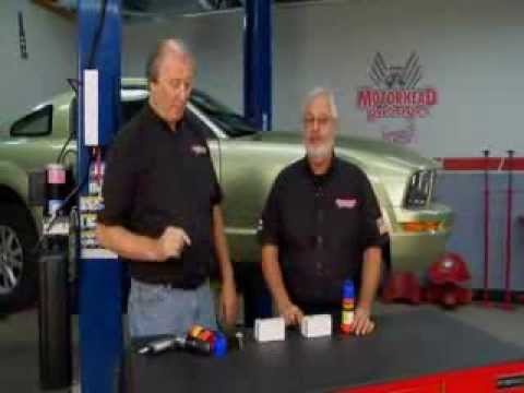 How to remove gauled lug nuts..Lug Ripper On MotorHead Garage TV Show