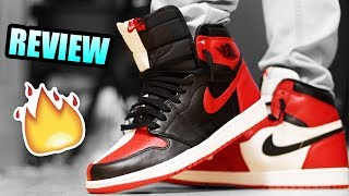 FIRST LOOK NIKE AIR JORDAN RETRO 1 OG HIGH HOMAGE TO HOME IN HAND ... b30f3bddf