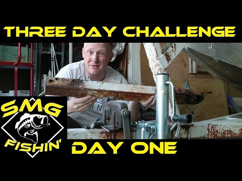 3 Day Challenge | Day One | Jon Boat to Bass Boat Restoration