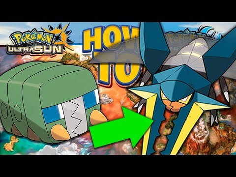 HOW TO Evolve Charjabug into Vikavolt in Pokemon Ultra Sun and Moon