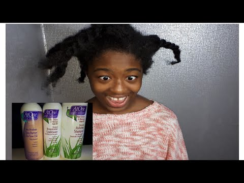4C HAIR FIRST IMPRESSSIONS/ REVIEW: AT ONE HAIR PRODUCTS