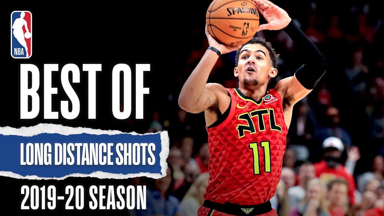 Best Of Long Distance Shots   2019-20 NBA Season
