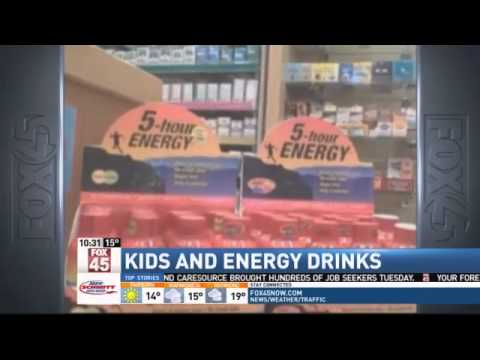 Kids Getting Sick From Energy Drinks