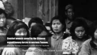 """Documentary-- """"Comfort Women – Japanese Army Sex Slaves Archives"""""""