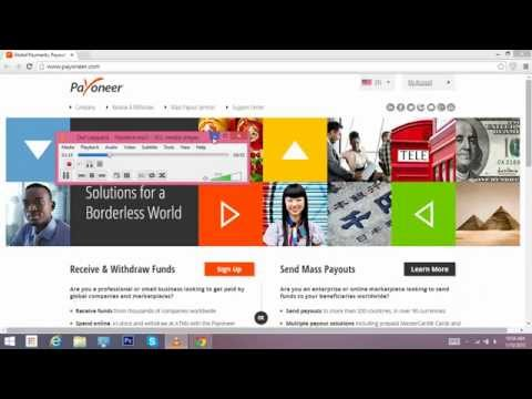 How to sign up for Payoneer Account from USA,Uk , France, Turkey, Pakistan and India