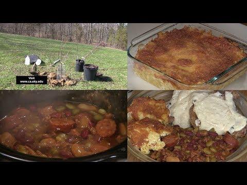 Mac & Cheese, Cowboy Crockpot Beans, Pork Chops w/ White Gravy, and Planting Apple Trees (#602)