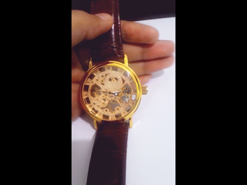 Winding a Mechanical Watch