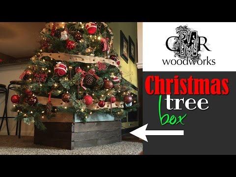 Christmas Tree Box   Make a DIY cover for your tree base (CMRW#41)