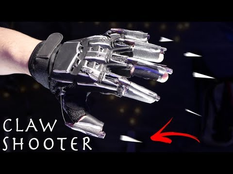 How To Make EJECTABLE BLACK PANTHER CLAWS! - Cheap Claw Shooter!!!