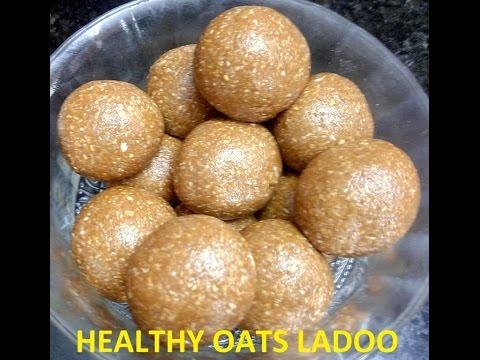 healthy oats ladoo (malayalam)