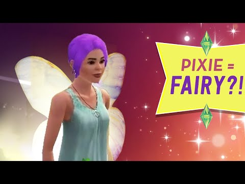 PIXIE BECOMES A FAIRY? - Sims 3 Ever After Ep.45