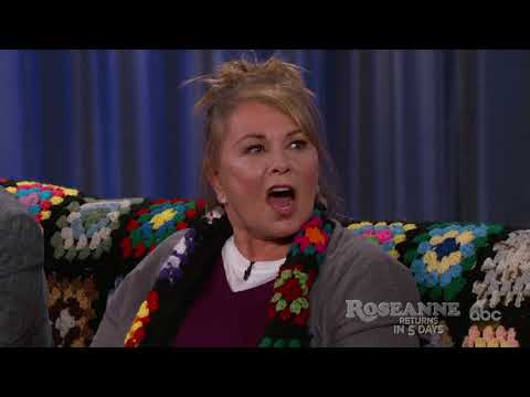 Roseanne Defends Supporting Trump to Jimmy Kimmel: 'You All Went So F***ing' Far Out'