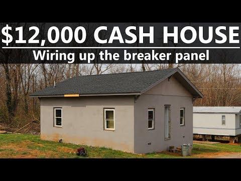 $12,000 Cash House - Wiring a Breaker Box - #31