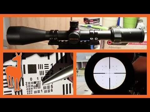 Simmons 44 Mag 6-24x44mm Mil-Dot Rifle Scope - Ready for 1000 Yards?