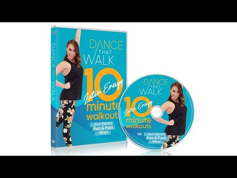 Introducing Dance That Walk - 10 Minute Latin Energy Walkouts: Low Impact Walking Workout!