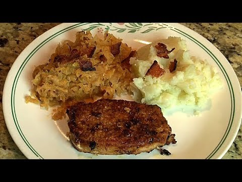 Kislo Zelje with Pork Chops, Slovenian recipe