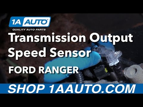 How to Install Replace Output Speed Sensor Automatic Transmission 1997-11 Ford Ranger