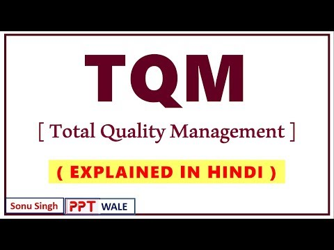 Download TQM (Total Quality Management) IN HINDI | Production