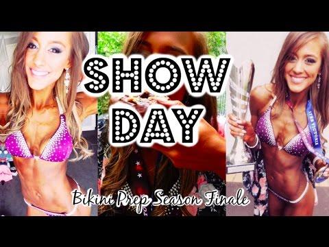 IFBB VICTORIAN STATE CHAMPIONSHIPS | Show Day! | Bikini Prep Ep16: Season Finale