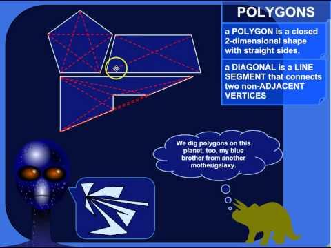 The Diagonals of a Polygon