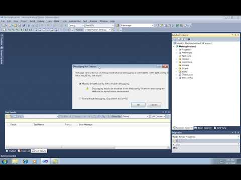 Visual Studio 2010: ASP.NET MVC