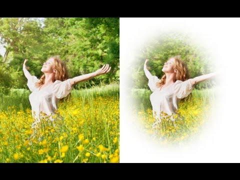 How to create vignette effect in photoshop cs5  (vignette photoshop tutorial)
