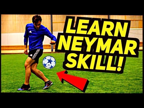 Learn NEYMAR AMAZING Football/Freestyle Skill Tutorial ★