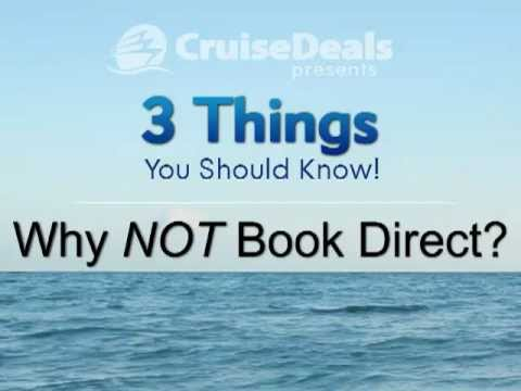 Cruise Deals: Three Things to Know about Buying Direct