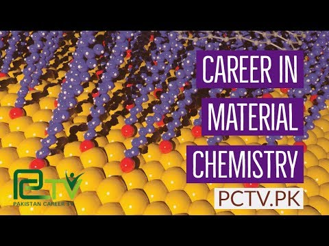 Career In Material Chemistry or Sciences
