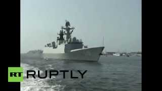 Pakistan: Chinese Navy arrives in Karachi for joint war games