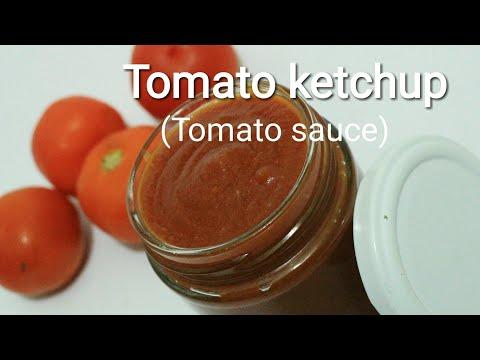 Tomato ketchup - How to make tomato ketchup - Homemade tomato sauce - Tomato sauce