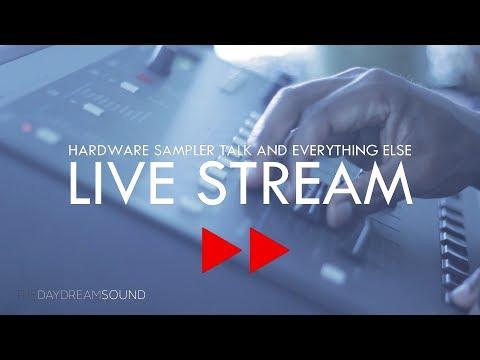 E-MU SP1200 Live Beat Making & Critique!! - Hardware Samplers - Livestream #3