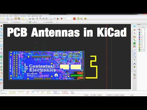 Making A PCB Antenna in KiCad
