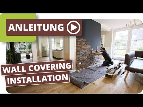 Real Wood Panel for Wall Covering - Installation Tutorial - planeo Indo