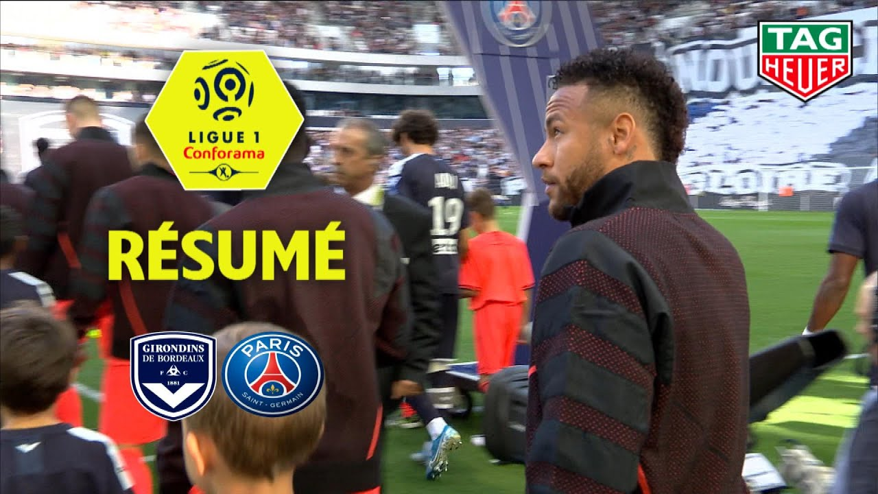 Girondins de Bordeaux - Paris Saint-Germain ( 0-1 ) - Résumé - (GdB - PARIS) / 2019-20