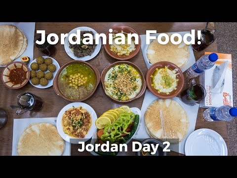Jordanian Food and the Best Falafel I've Had!