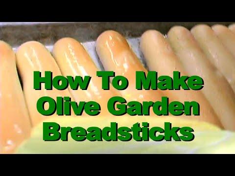 How to make OLiVE GARDEN Breadsticks