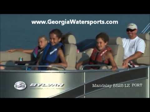 Boat for Sale Georgia Sylvan Mandalay 8525 LZ Port Macon Athens Greensboro GA registration license