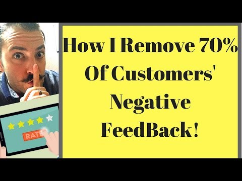 How I Remove 70% Of Negative reviews-Amazon FBA