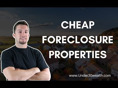 Real Estate Investing in Foreclosure Properties