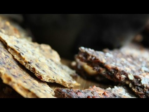 Easy Gluten Free Teff Crackers Recipe