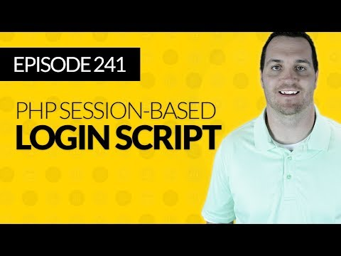 JMS242: How to Create a Session-Based Login Form in PHP