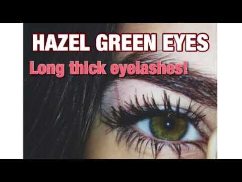 🌻 Hazel Green Eyes + Long Eyelashes 🌻