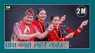 Ghasa Katau Laharai tanera घाँस काटौ लहरै तानेर  thetar song ठेटर नांच Gore Munga Balkashi Gurung