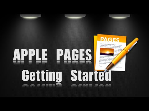 Getting Started with Apple Pages