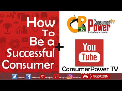 How to be a Successful Consumer || ConsumerPowerTV Trailer