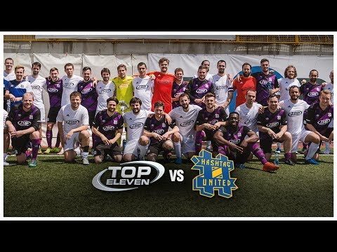 Behind The Scenes: Hashtag United v. Top Eleven | Top Eleven