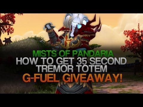 Shaman Guide - How to get half duration on totems! G-Fuel Giveaway! (Gameplay/Commentary)