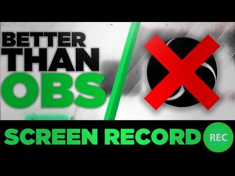 How To Record Your PC Screen in FULL HD Quality No LAG! Better Than OBS Classic 2017
